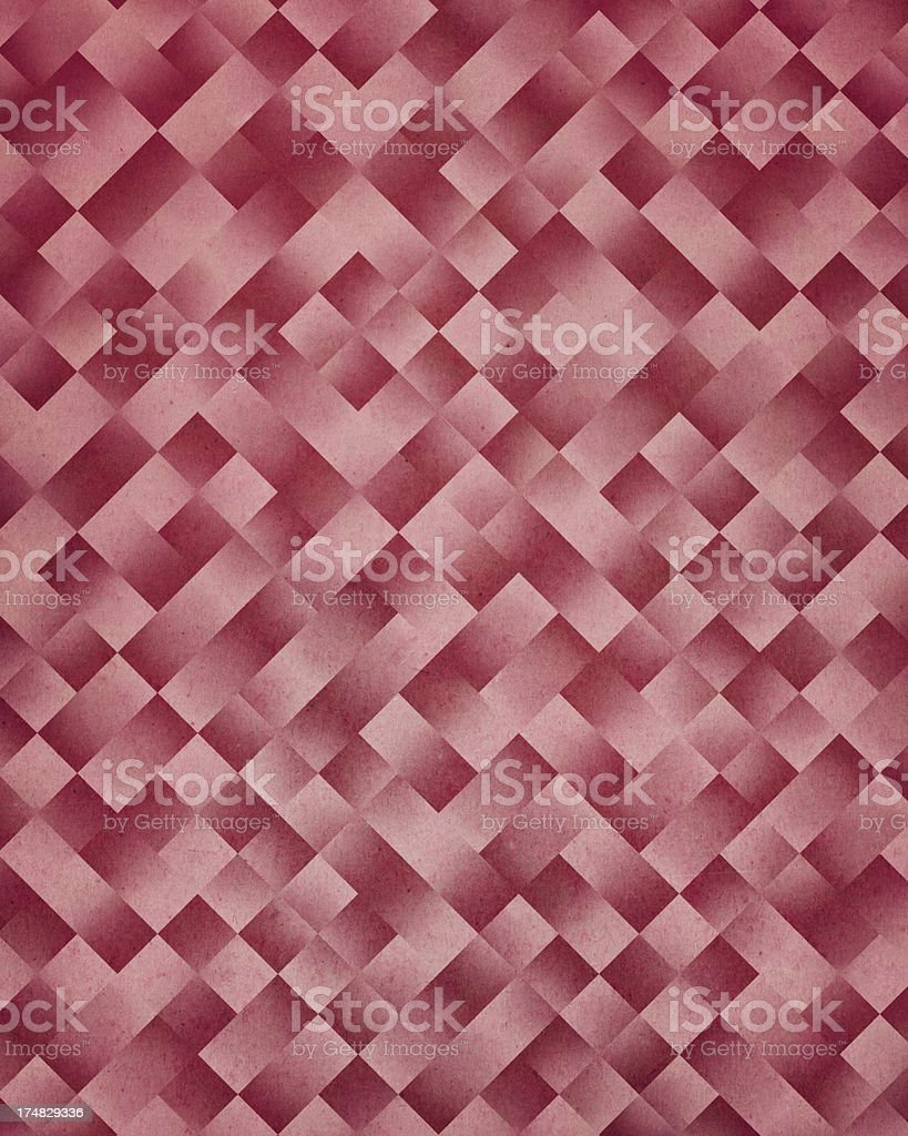 textured paper with geometric pattern stock photo