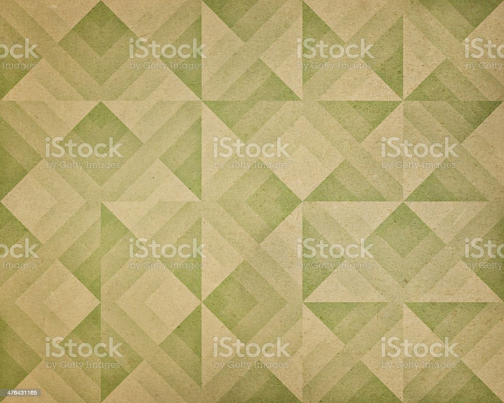 textured paper with geometric pattern royalty-free stock photo
