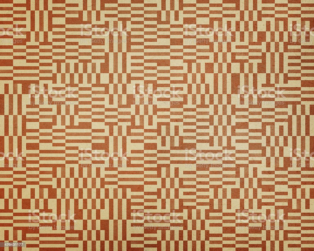 textured paper with rectangle pattern royalty-free stock photo