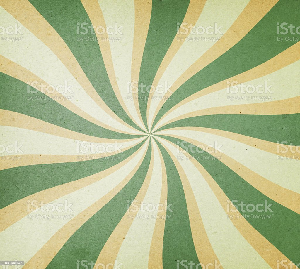 textured paper with spiral ray pattern royalty-free stock photo