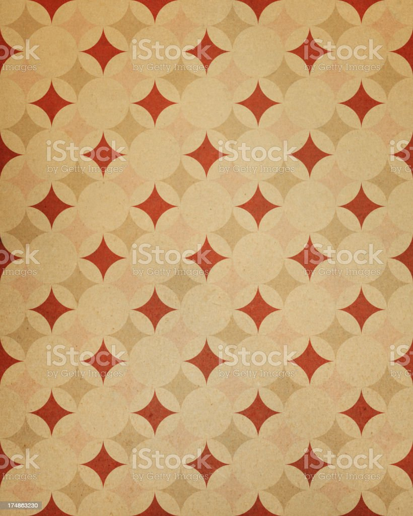 textured paper with star pattern royalty-free stock photo