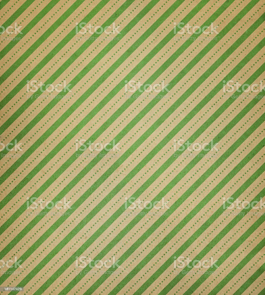 textured paper with stripe and dots royalty-free stock photo