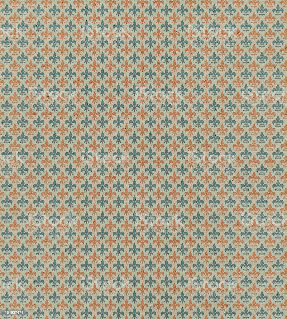 textured paper with symbol pattern royalty-free stock photo
