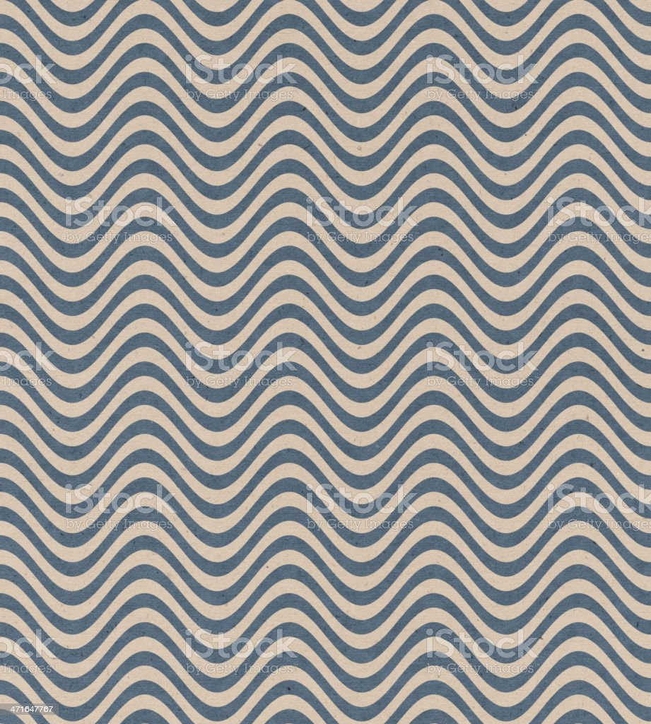 textured paper with wave pattern royalty-free stock photo