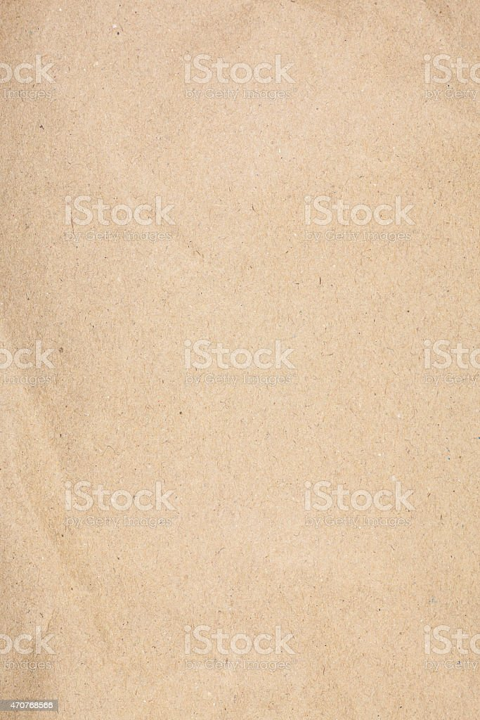 Textured recycled paper. stock photo