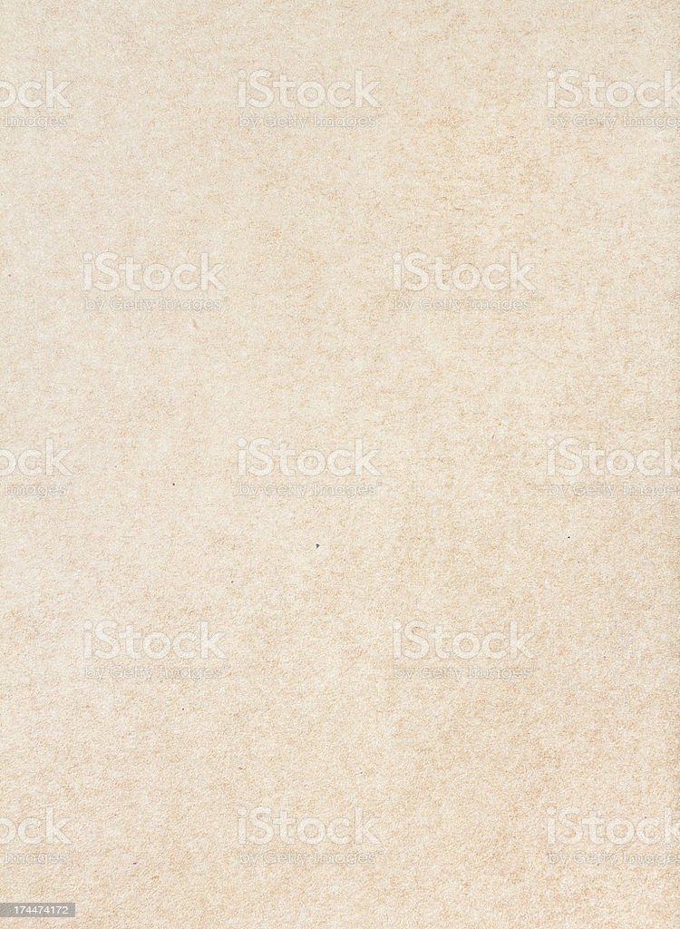 Textured recycled vintage light  beige natural  paper background stock photo