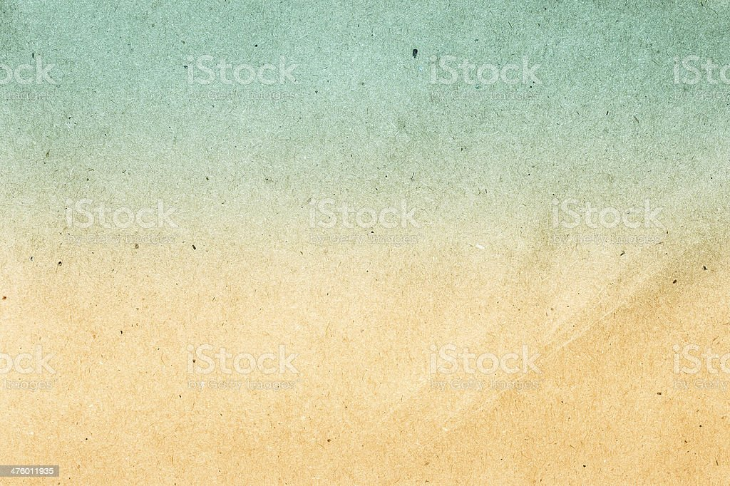 Textured recycled vintage natural  paper gradient color. royalty-free stock photo
