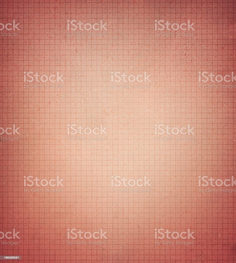 textured red graph paper royalty-free stock photo