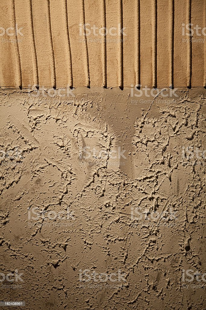 Textured Stucco Wall stock photo