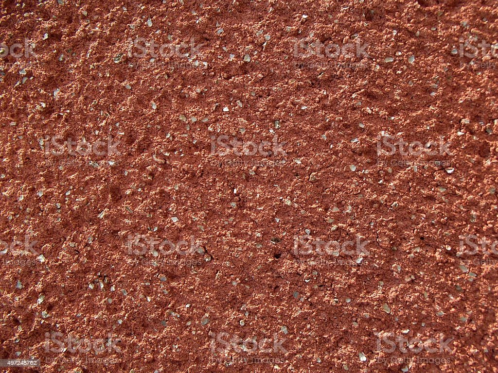 Textured Terracotta Colored Wall Background stock photo