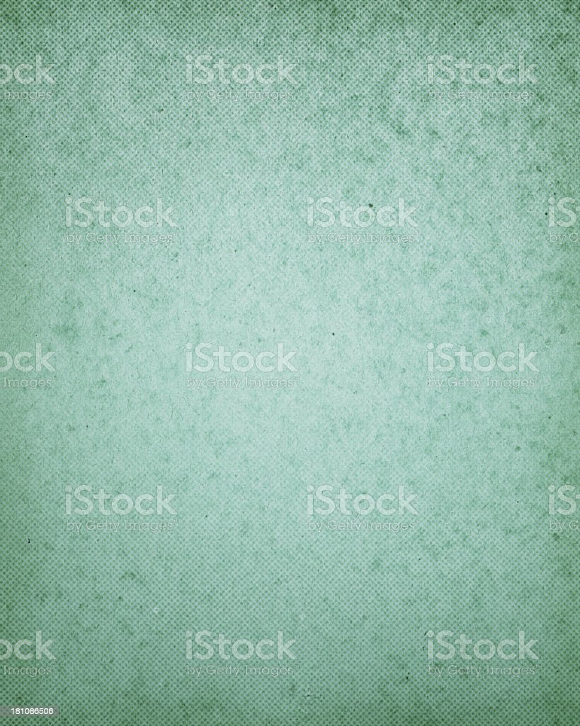 textured turquoise paper with halftone stock photo