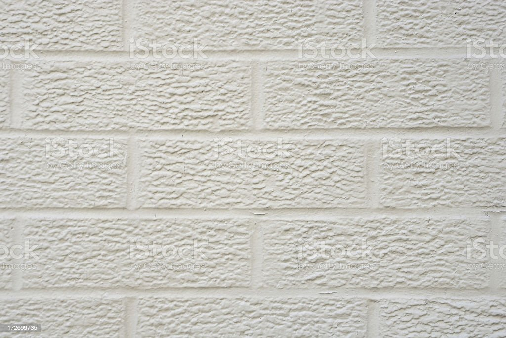 Textured White Brick Background royalty-free stock photo
