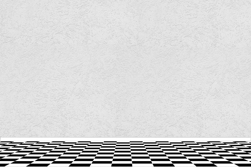 Black and white checkerboard pictures images and stock for Black and white check floor