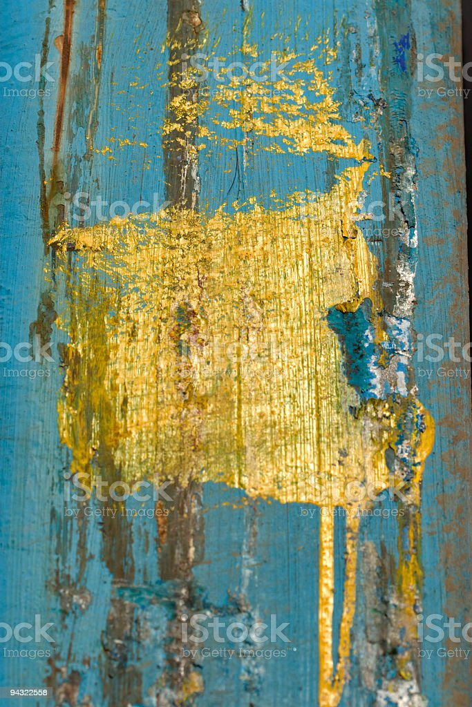 textured yellow square royalty-free stock photo