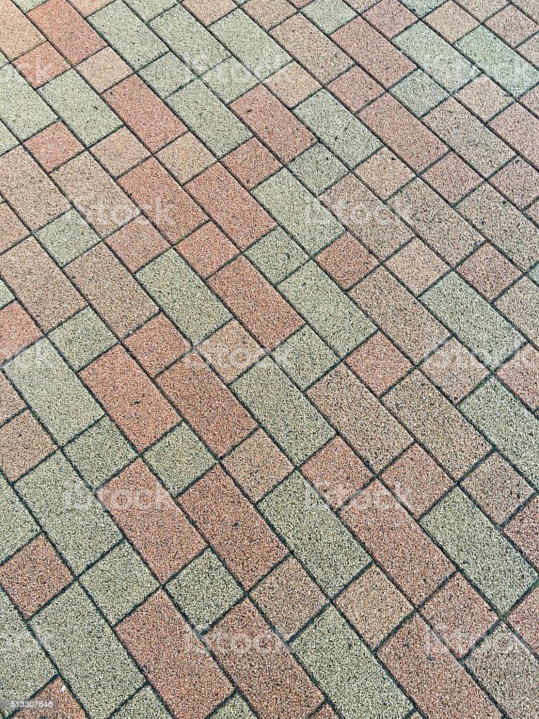 Texture-footpath stock photo