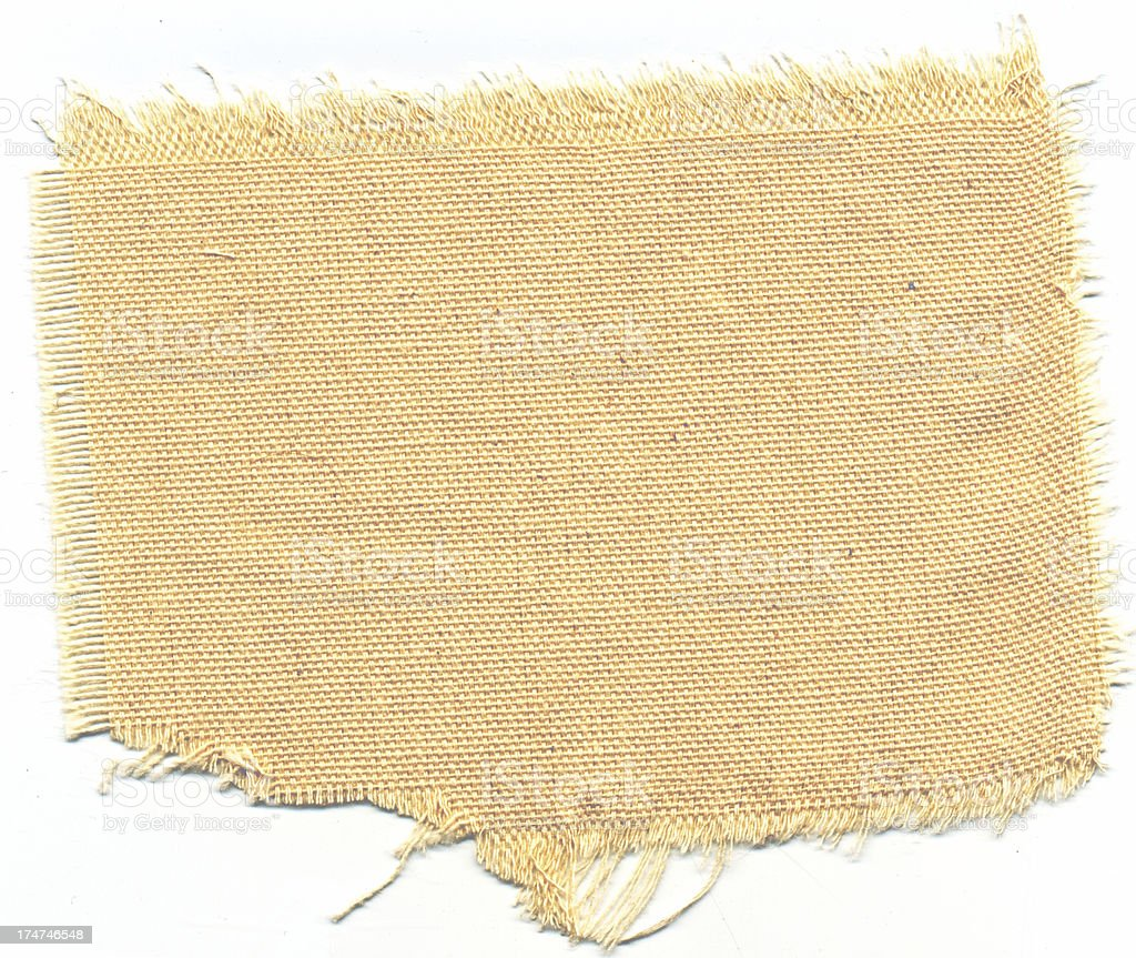 Texture-Ripped Canvas 2 stock photo