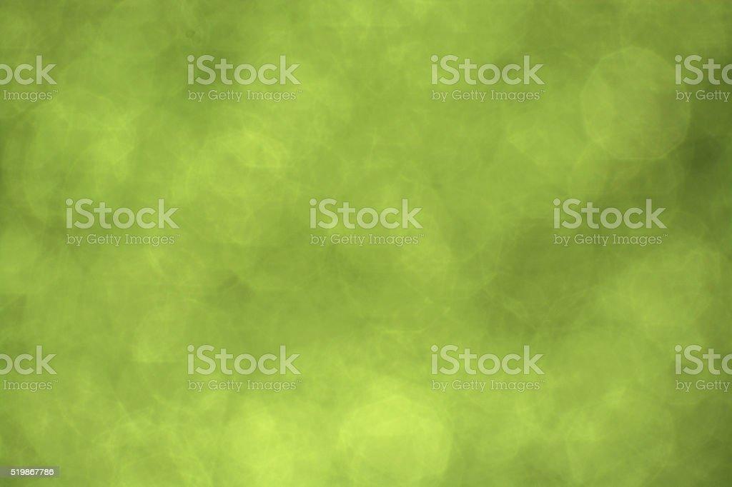 Textures - Bokeh - Green Color II stock photo