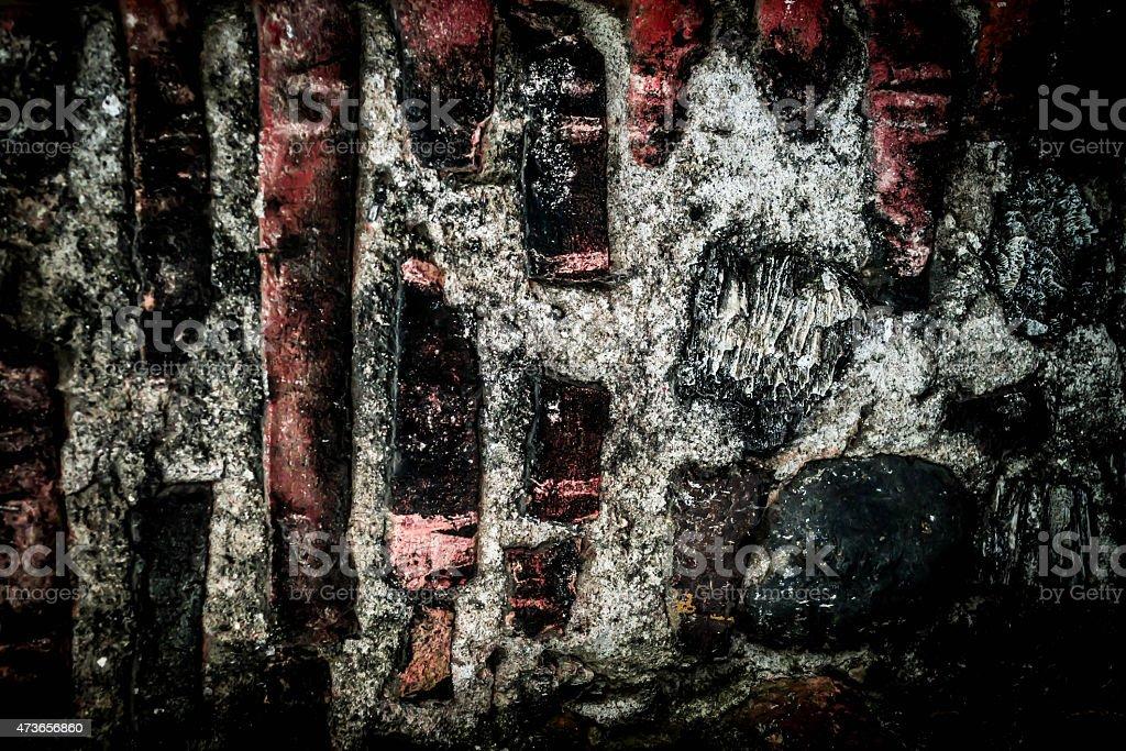 Textures of bricks stock photo