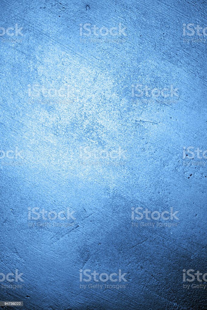 A texturized background with many shades of blue  stock photo