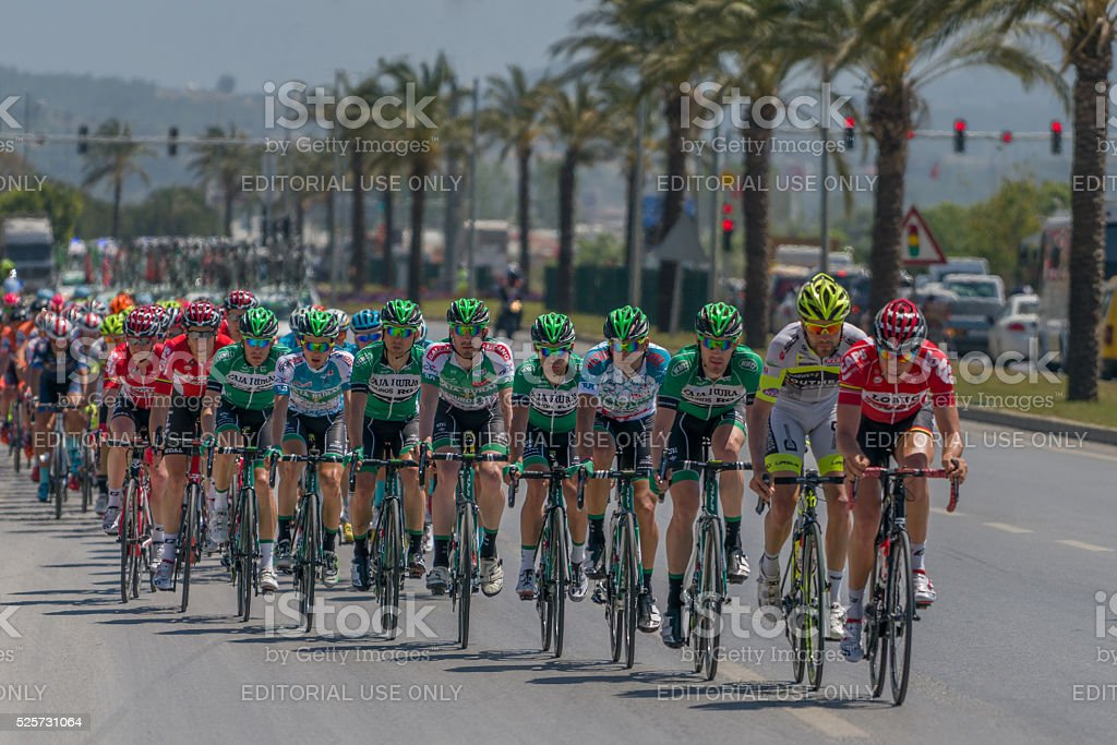 52 th edition of the Presidential Cycling Tour of Turkey stock photo