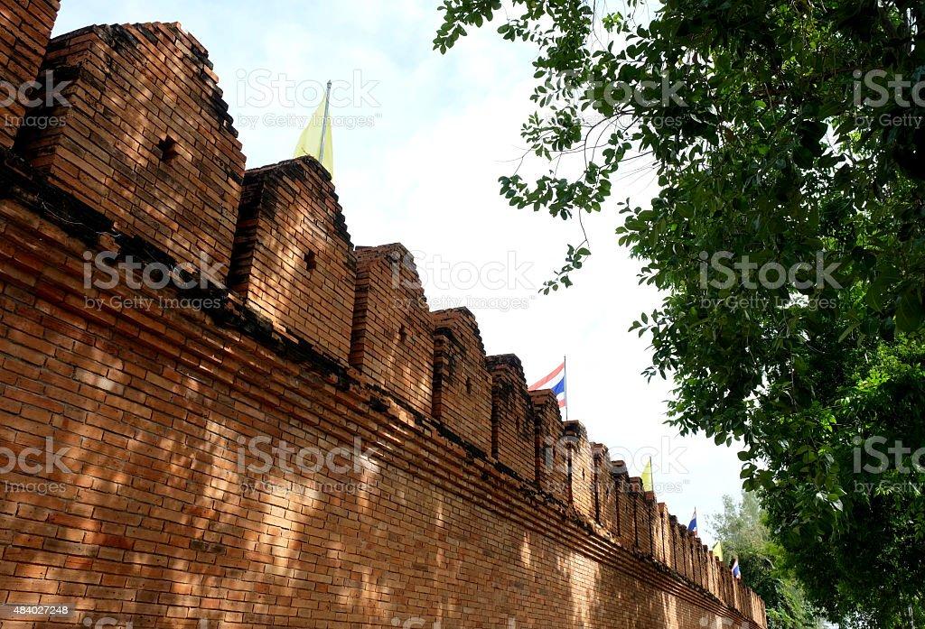 Tha Pae Gate, Chiang Mai, Thailand stock photo