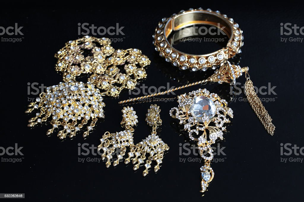 thai accessories wedding stock photo