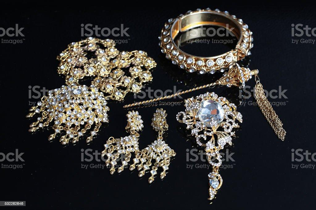 thai accessories wedding stock photo