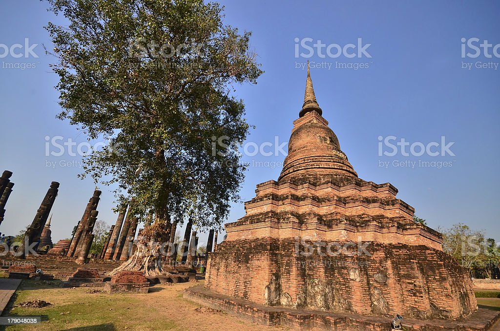 thai architecture. royalty-free stock photo