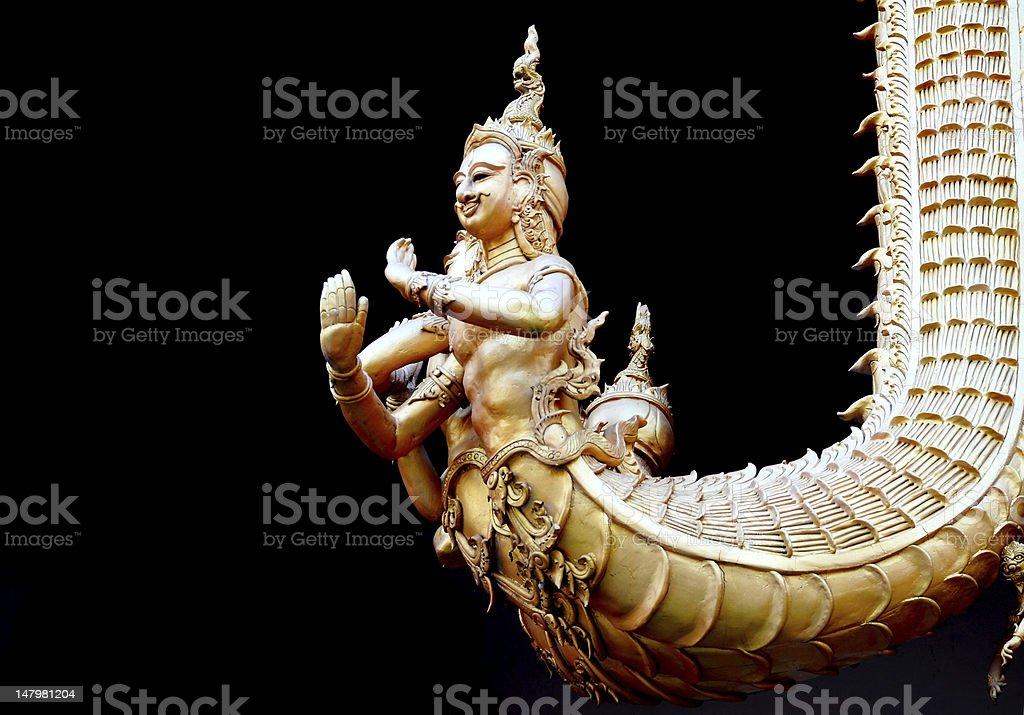 Tajskiej sztuki. zbiór zdjęć royalty-free