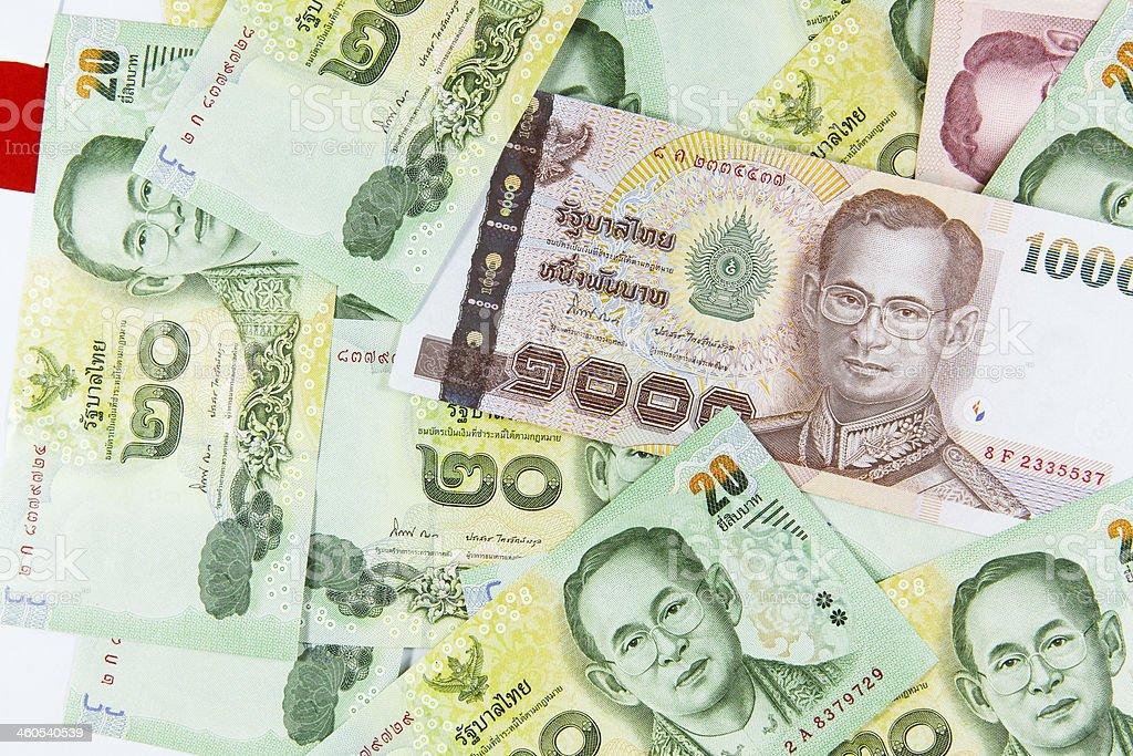 Thai Baht Note royalty-free stock photo