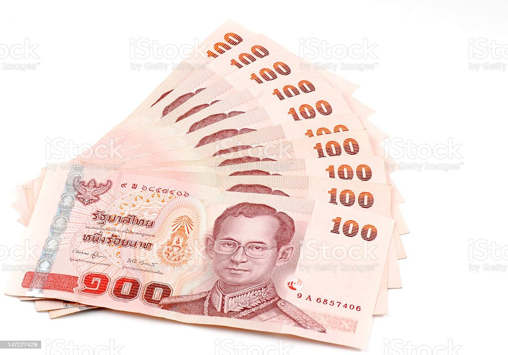 Thai Banknotes royalty-free stock photo