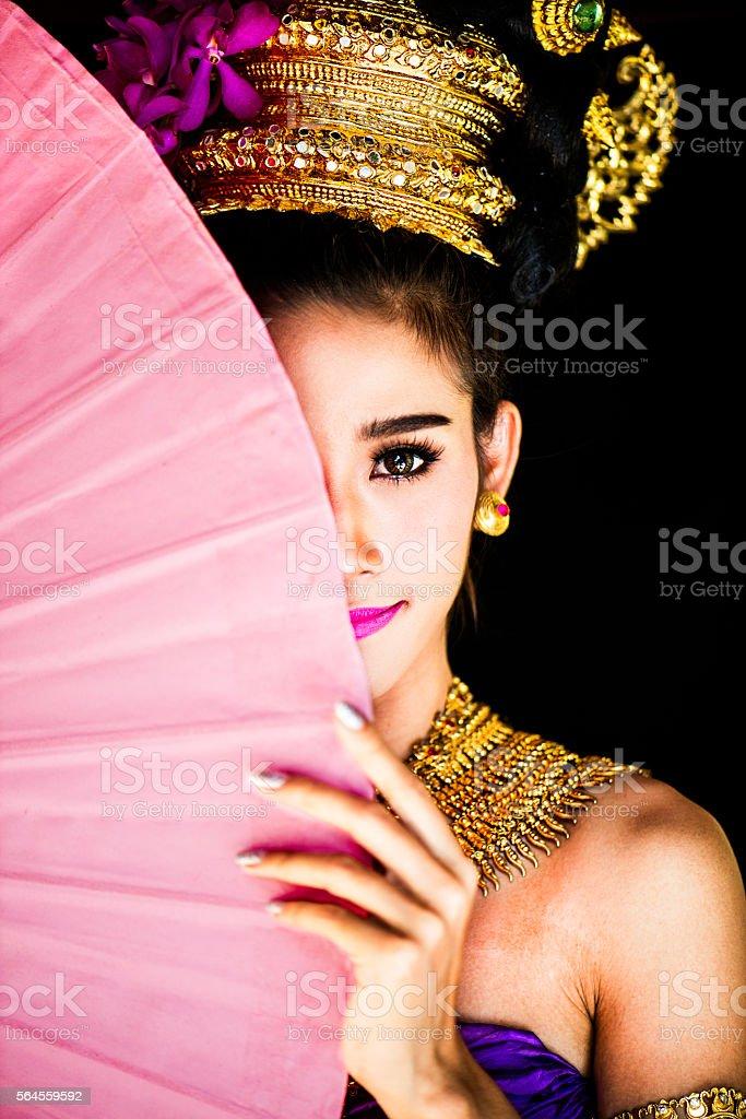 Thai Beauty stock photo