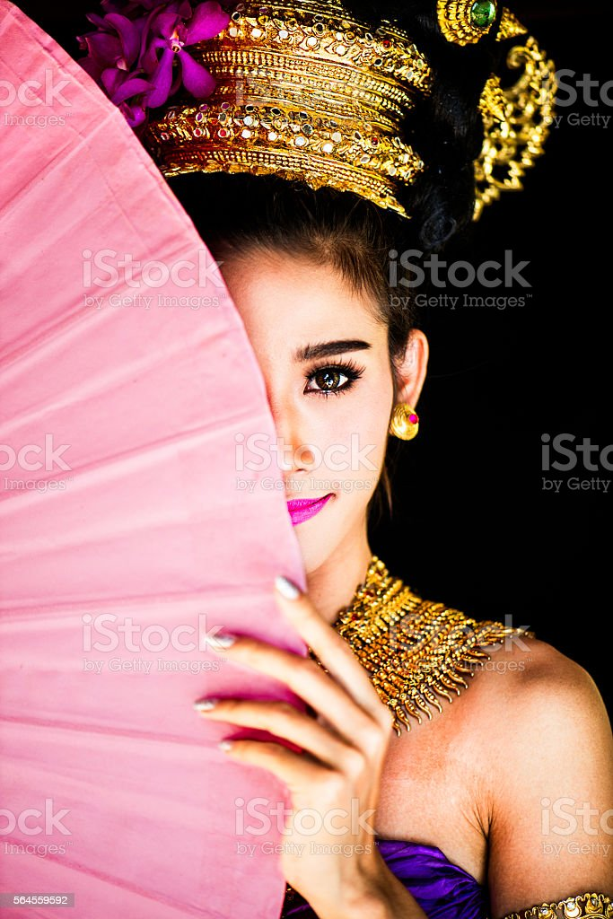 Thai Beauty stock photo
