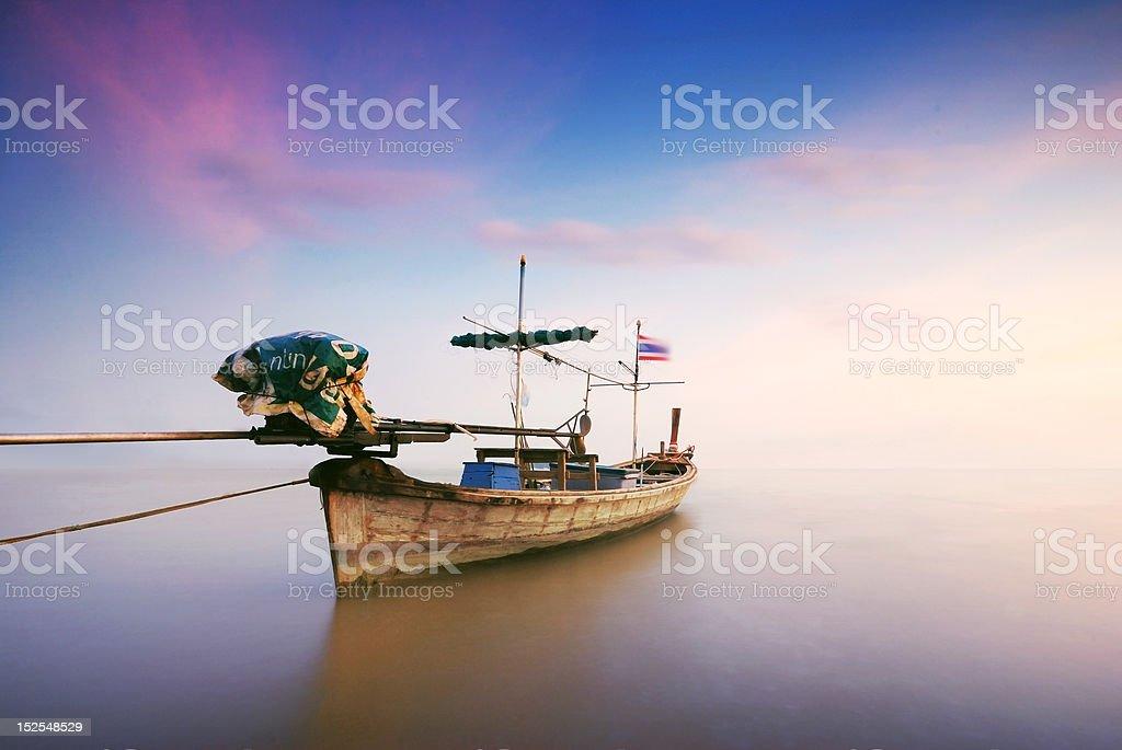 Thai boat royalty-free stock photo