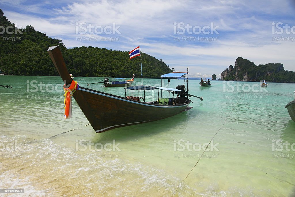 Thai Boat royalty-free stock photo