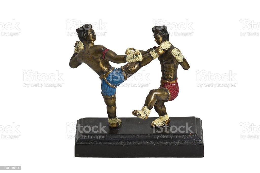 Thai boxing stock photo