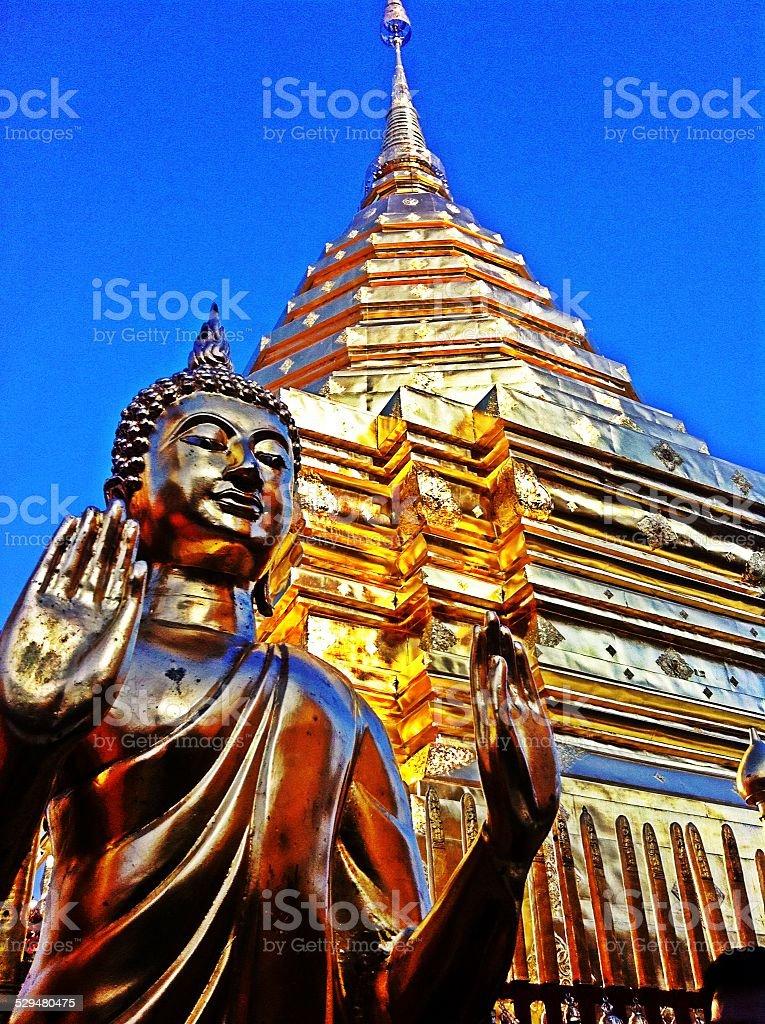 thai buddha stock photo