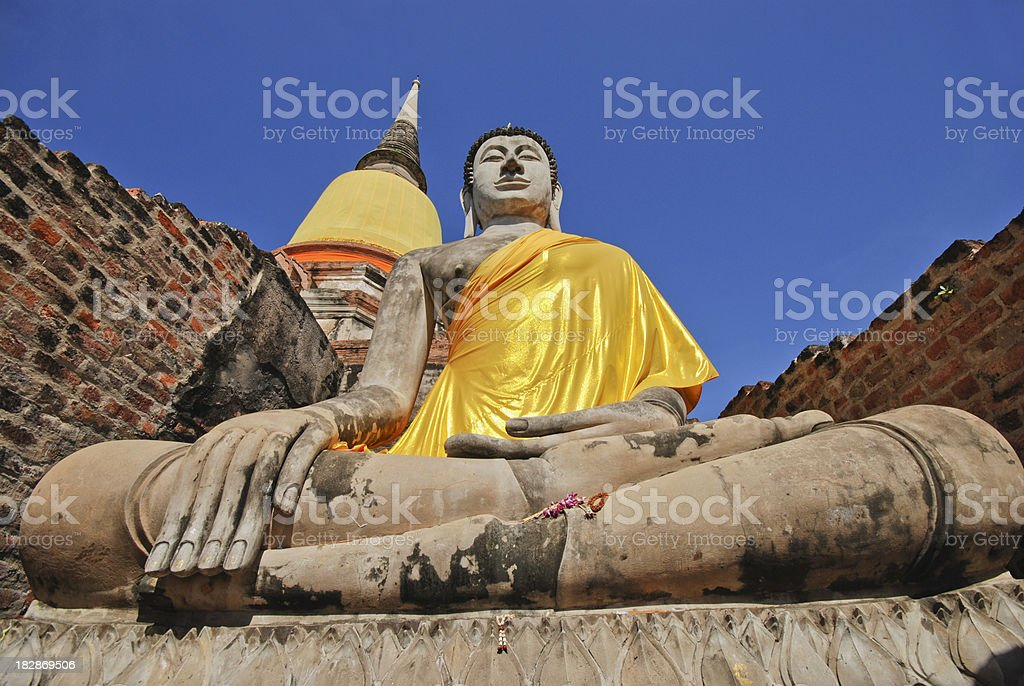 Thai Buddha Statues. stock photo