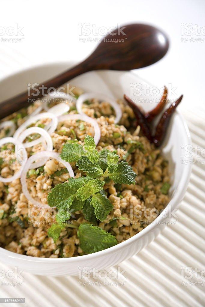 Thai Chicken Salad stock photo