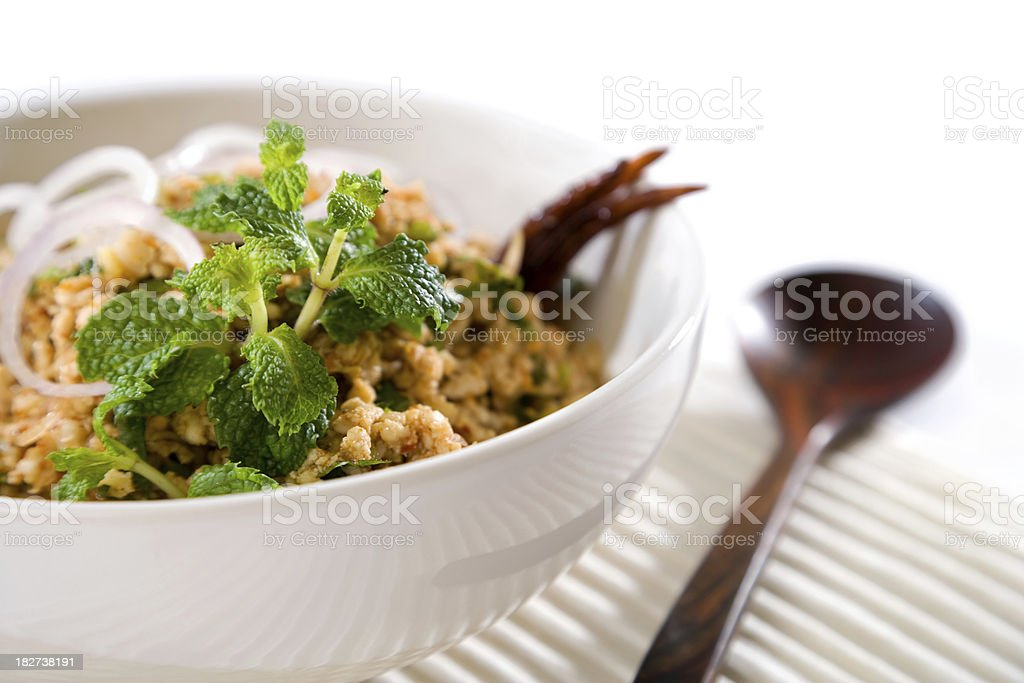 Thai Chicken Salad royalty-free stock photo