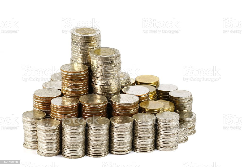 Thai Coins royalty-free stock photo