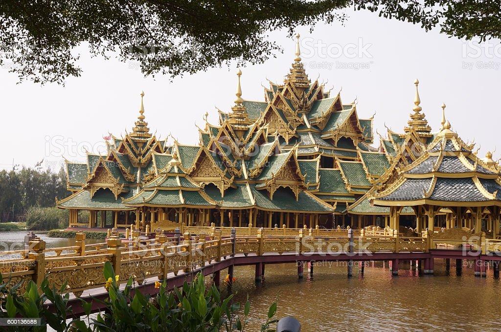 Thai Construction stock photo