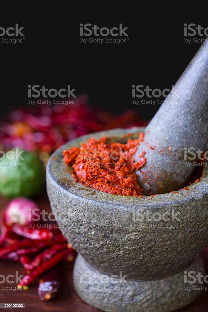 Thai Cooking stock photo