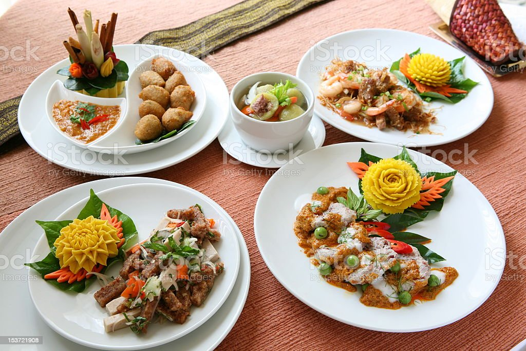 Thai Cuisine royalty-free stock photo