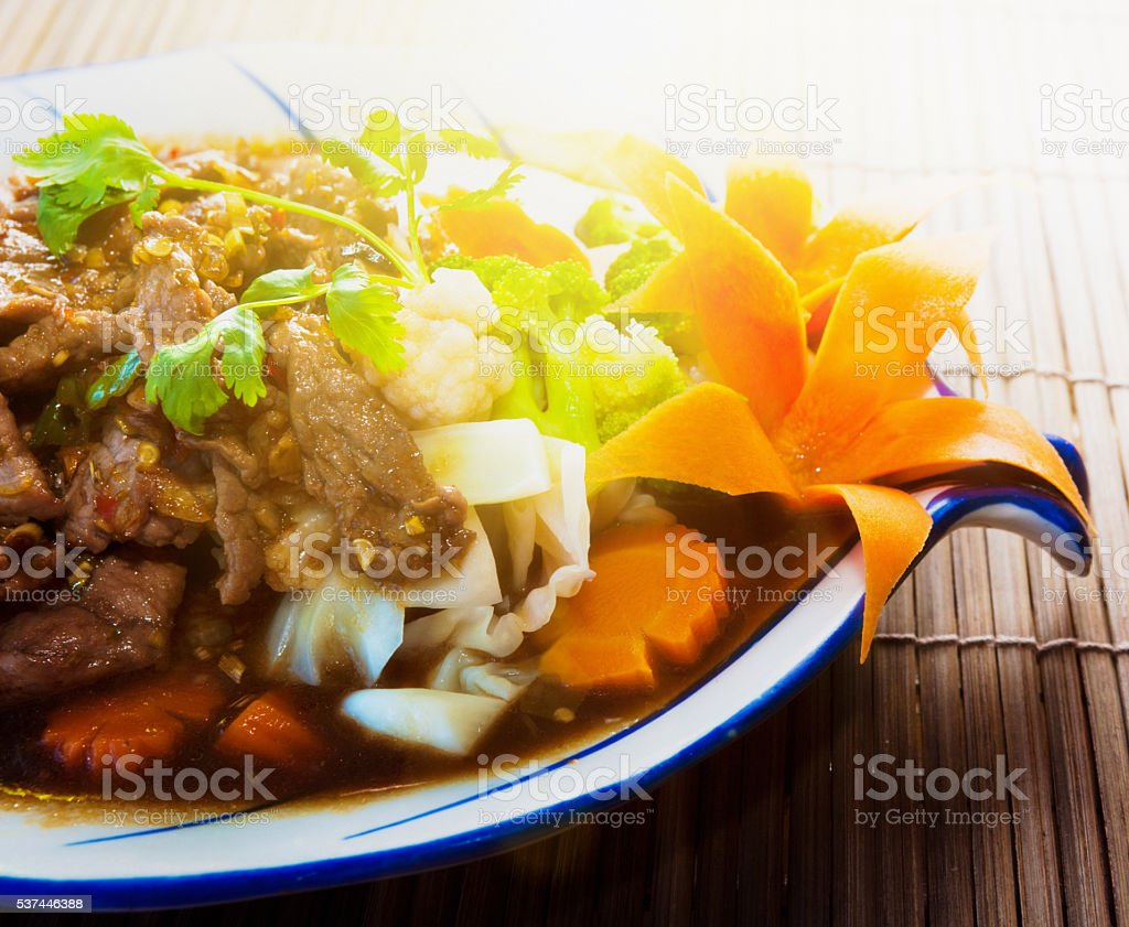 Thai curry, Angry Beef, food, spicy, meal, stock photo