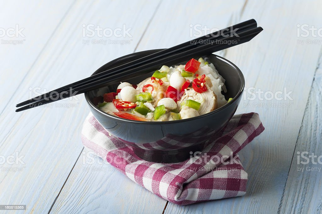 thai curry royalty-free stock photo