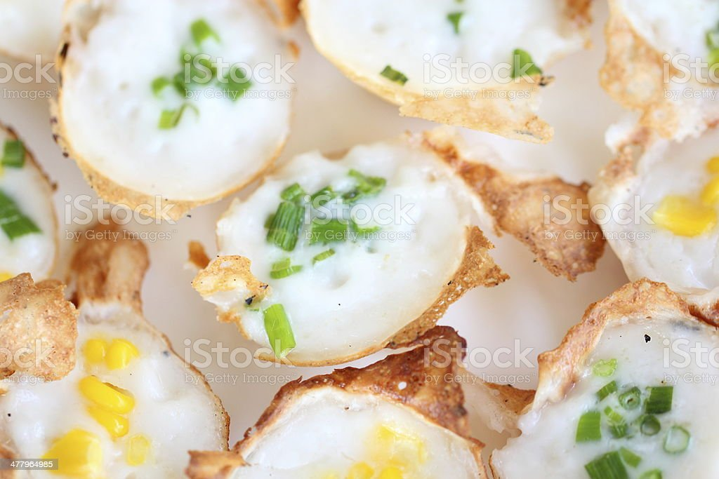 Thai Dessert : Kanom-Krok royalty-free stock photo