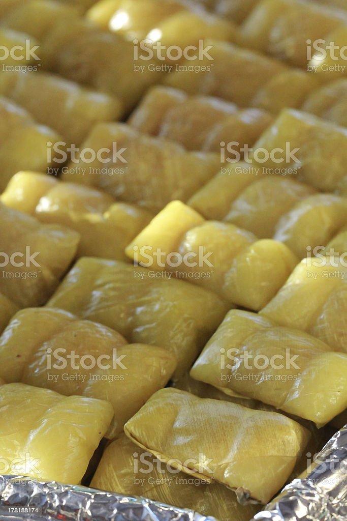 Thai dessert royalty-free stock photo