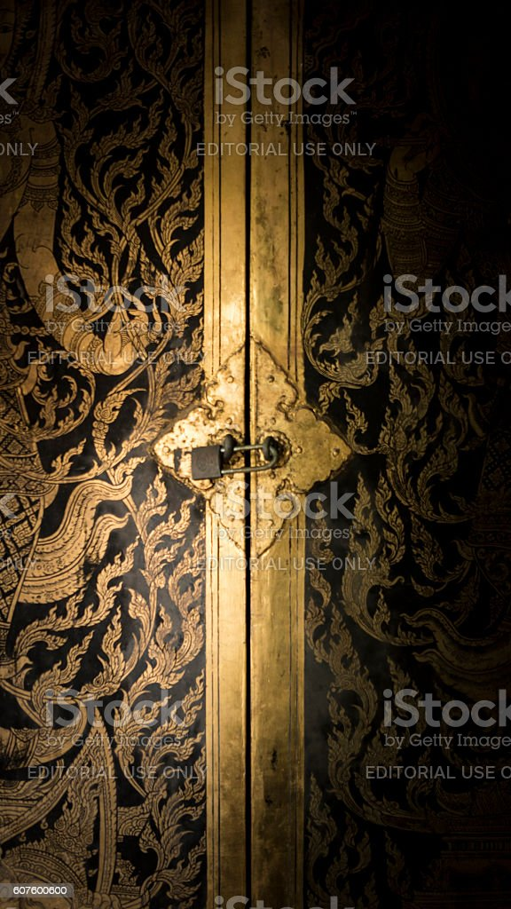 Thai door art architecture. royalty-free stock photo & Thai Door Art Architecture stock photo 607600600 | iStock Pezcame.Com