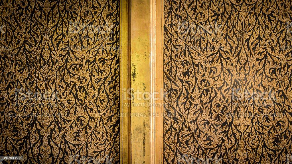 Thai door art architecture. royalty-free stock photo & Thai Door Art Architecture stock photo 607600838 | iStock Pezcame.Com
